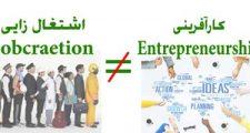 کارآفرینی همان اشتغالزایی است؟